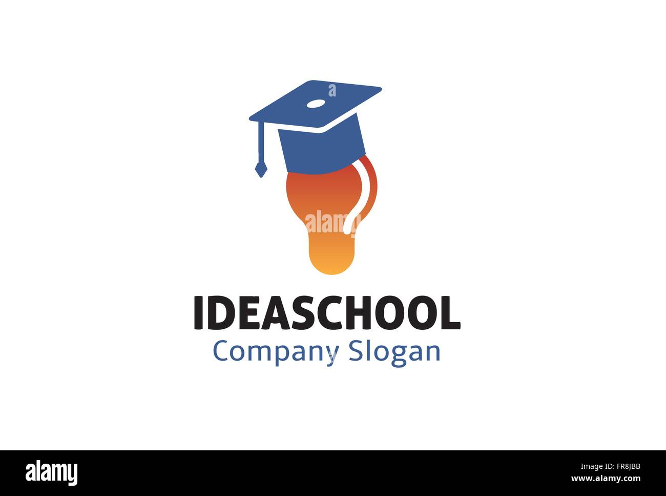 Idea School Design Illustration - Stock Vector