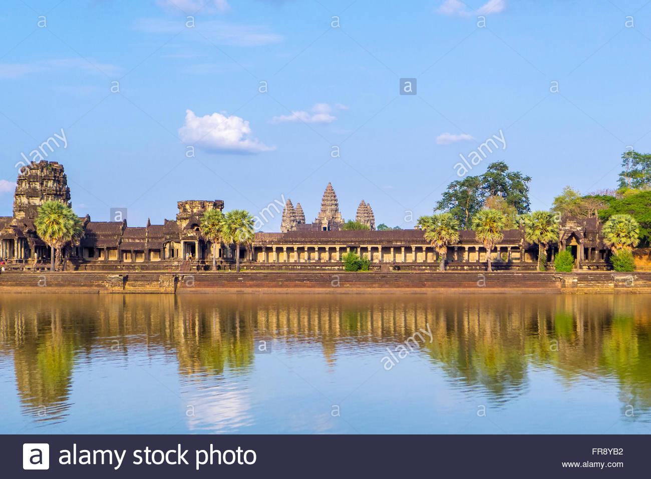 Angkor Wat, UNESCO World Heritage Site, Siem Reap Province, Cambodia Stock Photo