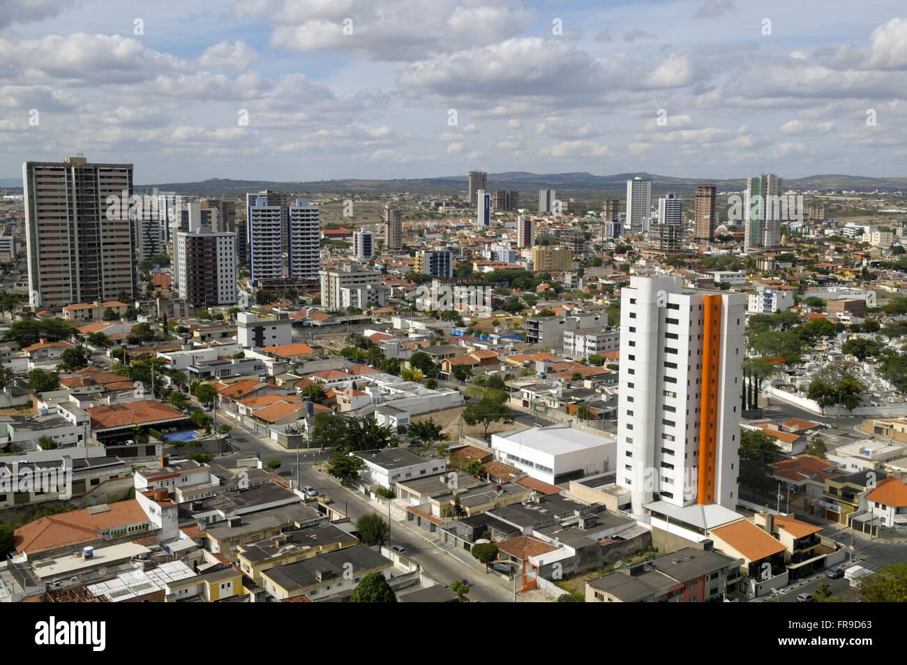 Visa upon Caruaru - residential building in the neighborhood Mauricio de Nassau - Stock Image