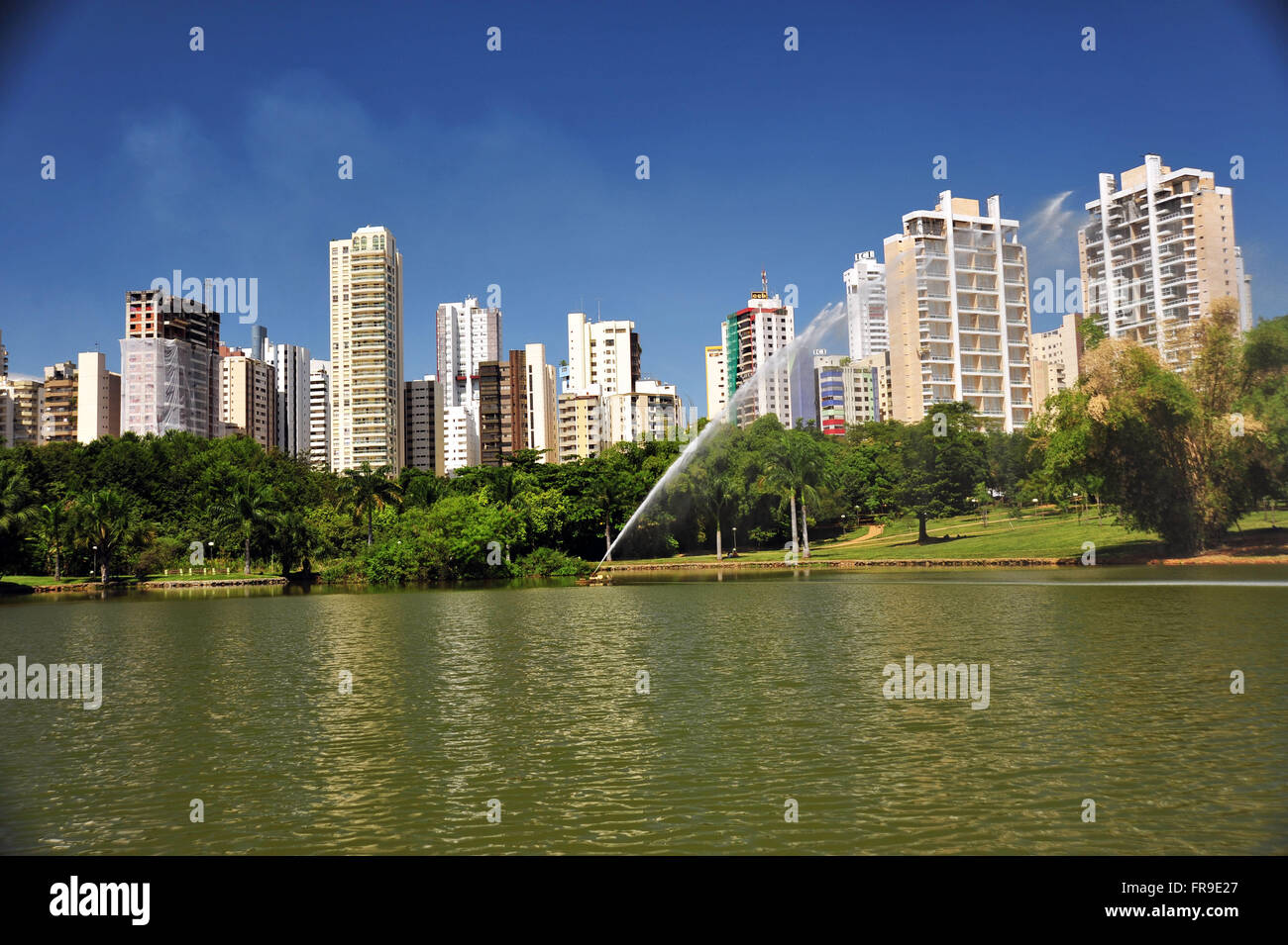 Vaca Brava Park City Goiania - Stock Image