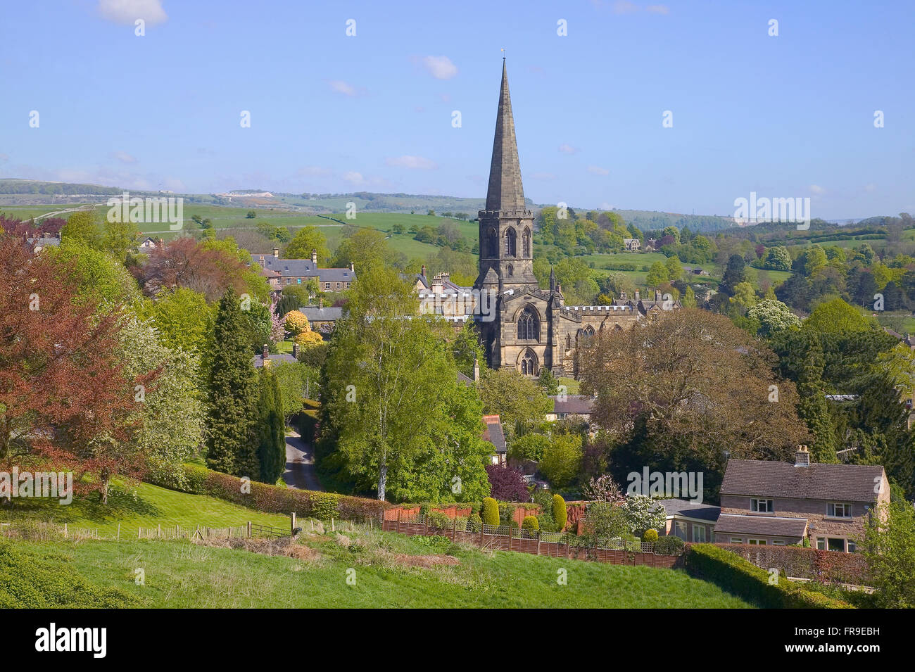 Bakewell Derbyshire Peak District - Stock Image