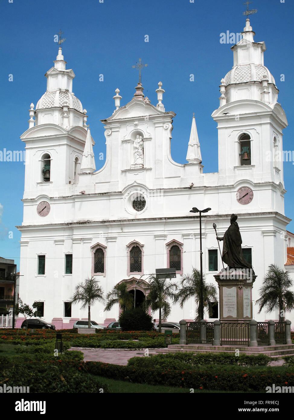 Catedral Metropolitana de Belem - Construction 1748 - Praca Dom Frei Caetano Brandao - Stock Image