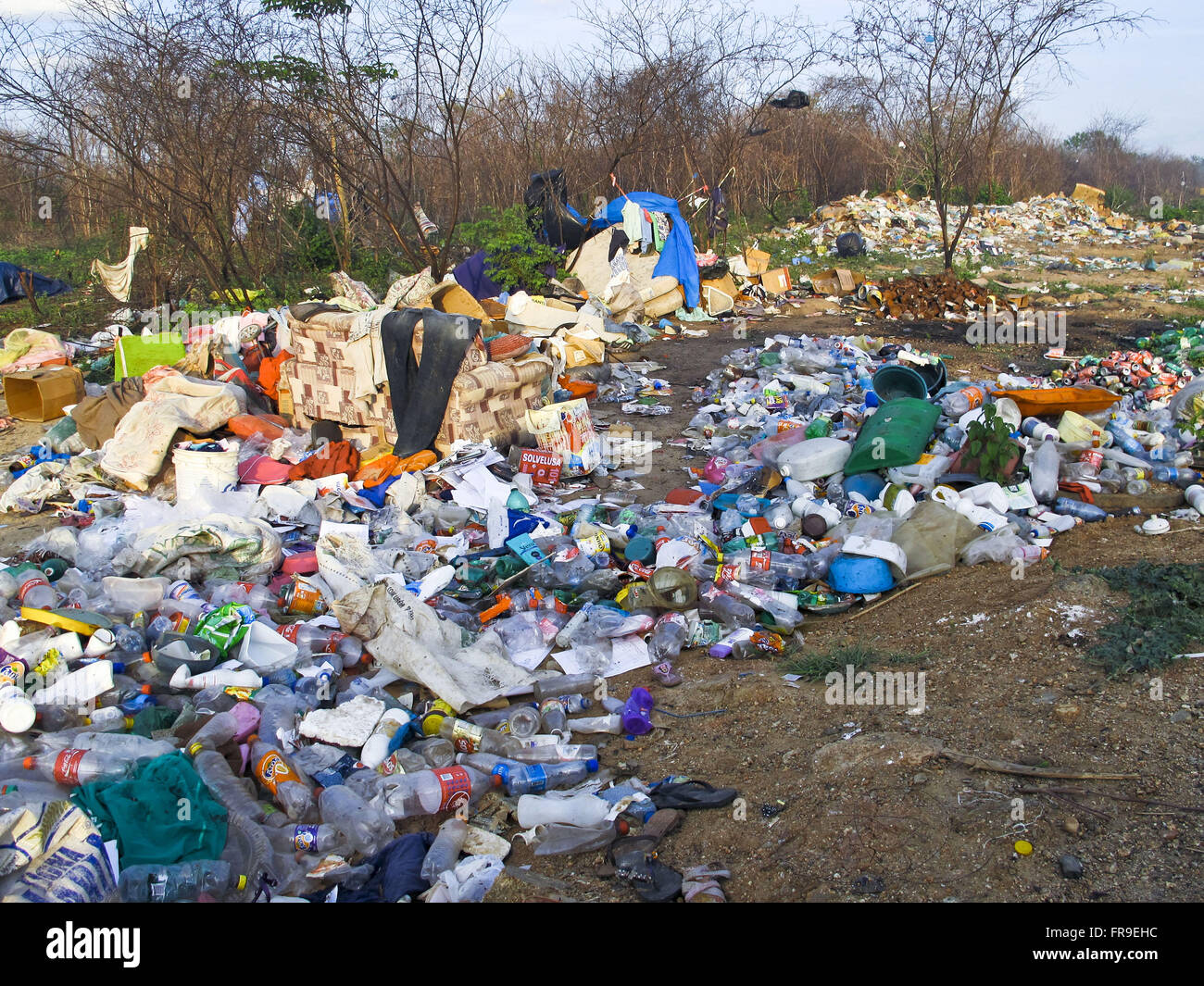 Dump the municipality of Ceará backlands - Stock Image