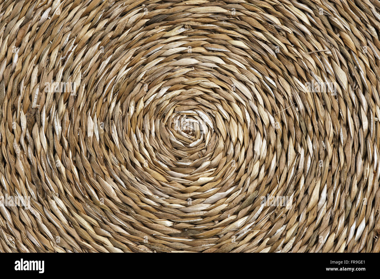 Detail of cattail crafts - Artesas Associated Happy Valley - Stock Image