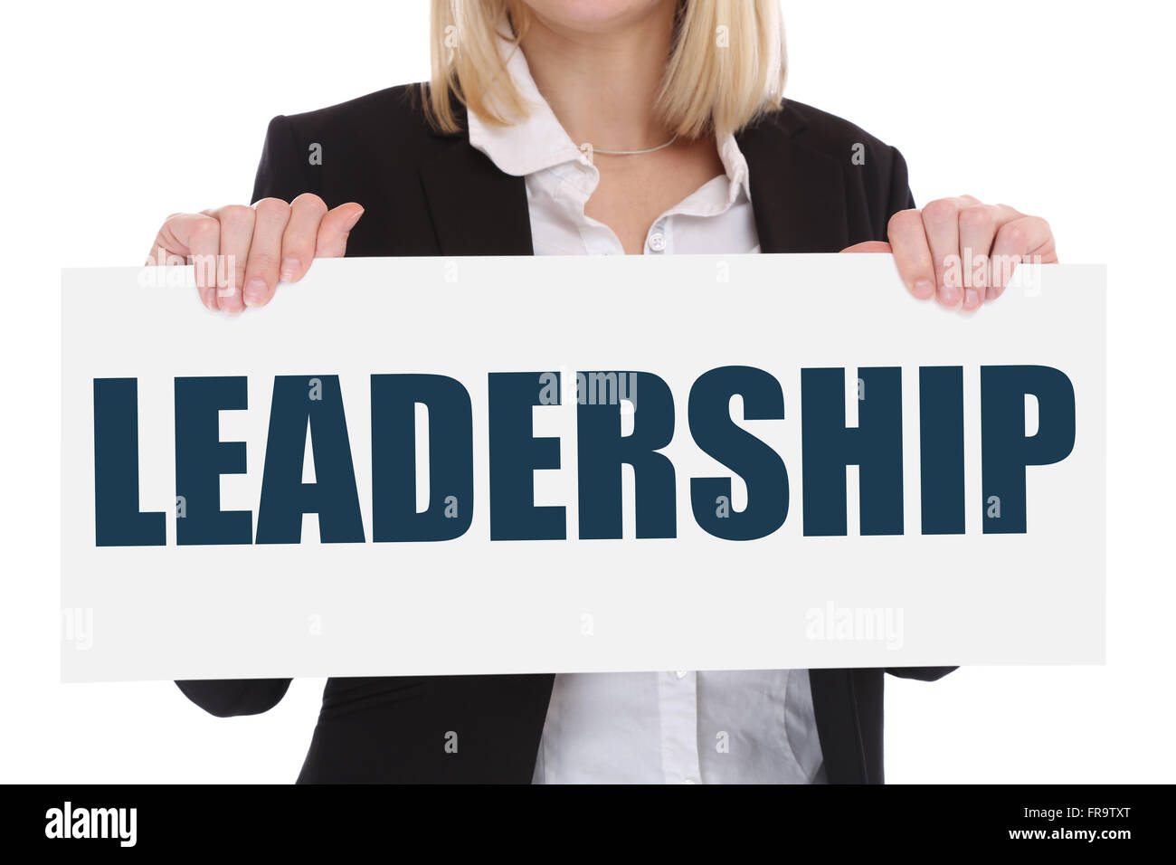 Leadership leading success successful win winning growth finances business concept development - Stock Image