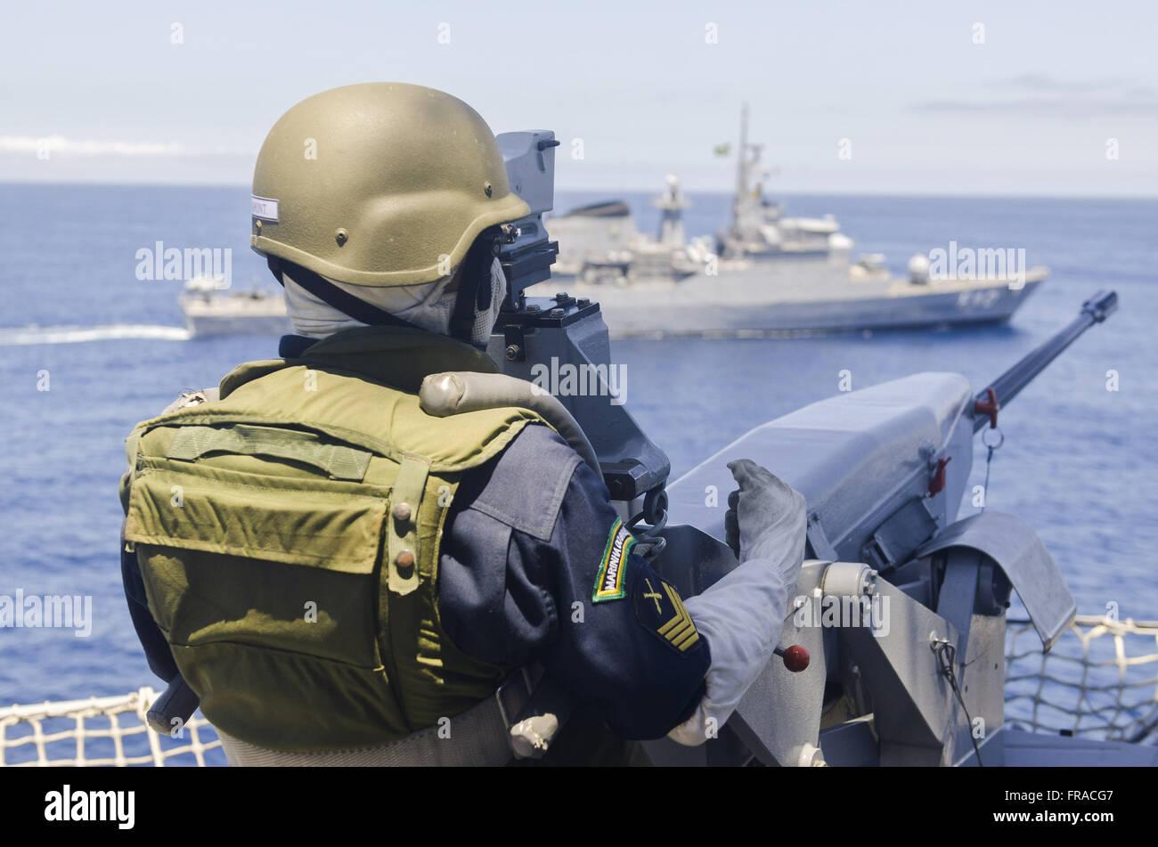 Chopper NDCC - Landing Ship Car Combat Admiral Savoie - Stock Image