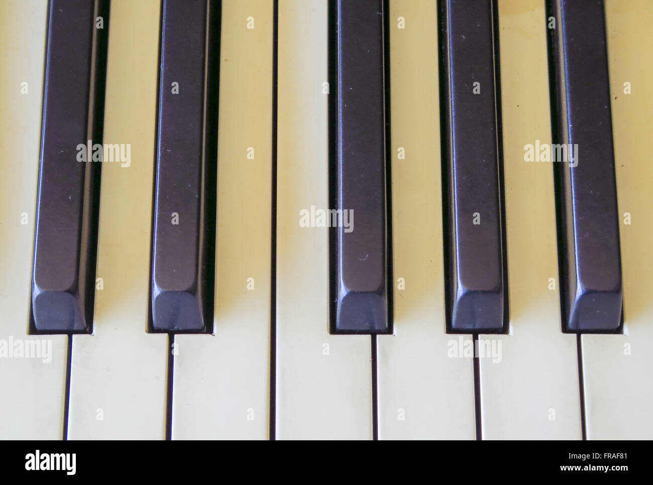 Piano Keyboard - Stock Image