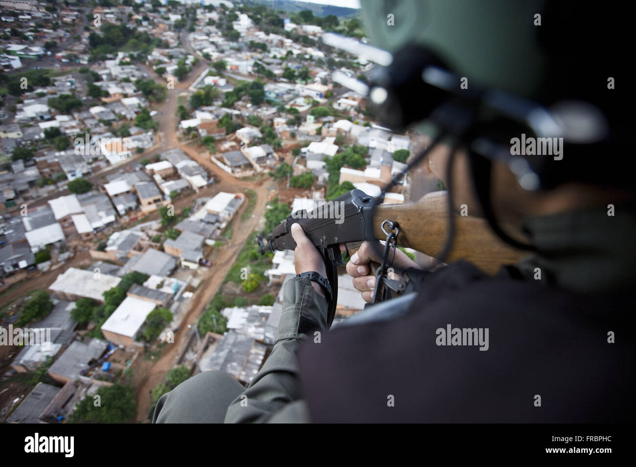 GRAER - Grouping Aeropolicial Aereo and Rescue Military Police of Parana - Stock Image