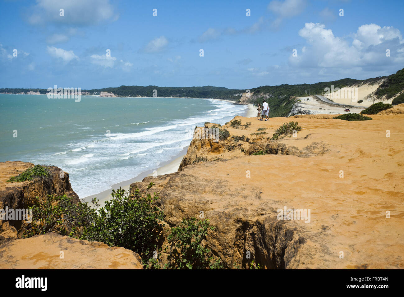 Beach municipality located in eastern Natal region - Stock Image