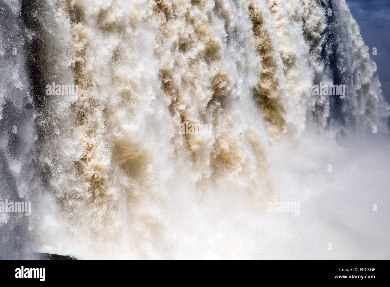 Detail of the Iguaçu Falls - Stock Image