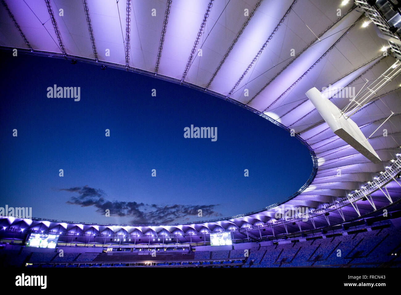 Rededication of the Maracana Stadium for World Cup 2014 - Stock Image