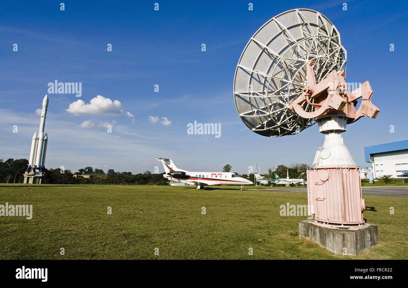 MAB - Memorial Avionics in Brazilian Space Center Teconologico - Stock Image