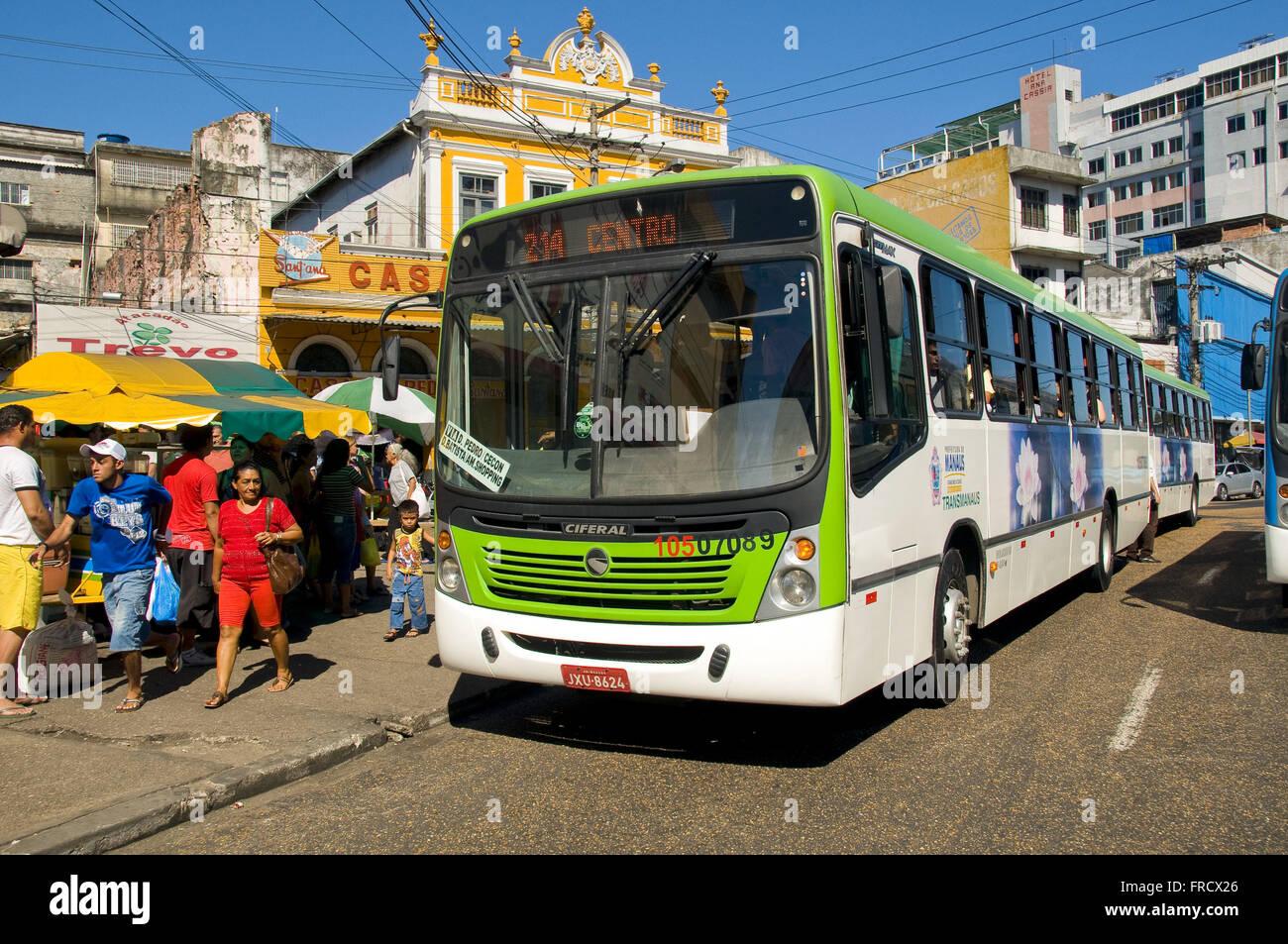 Public transportation from Manaus - Stock Image