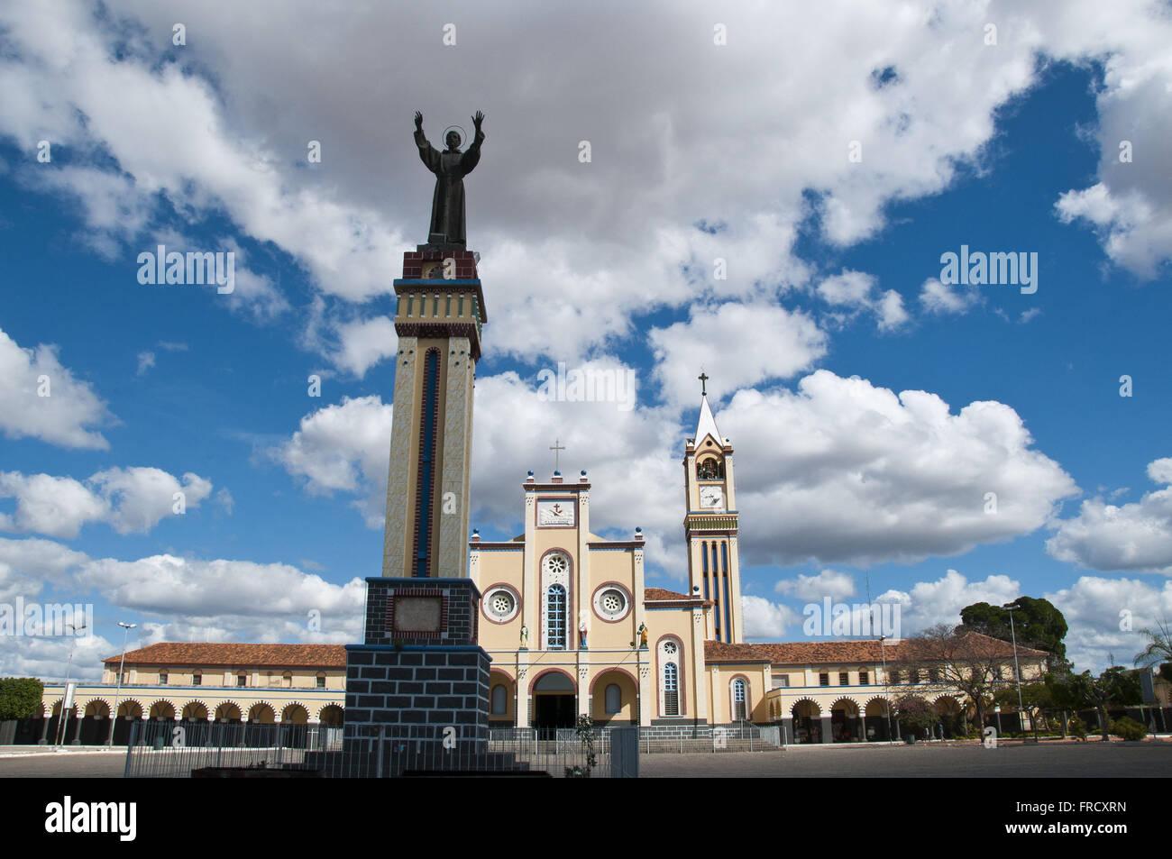 Church of Sao Francisco de Assis city of Juazeiro Stock Photo