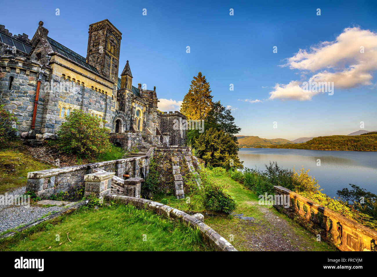 St Conans Kirk located in Loch Awe, Argyll and Bute, Scotland - Stock Image