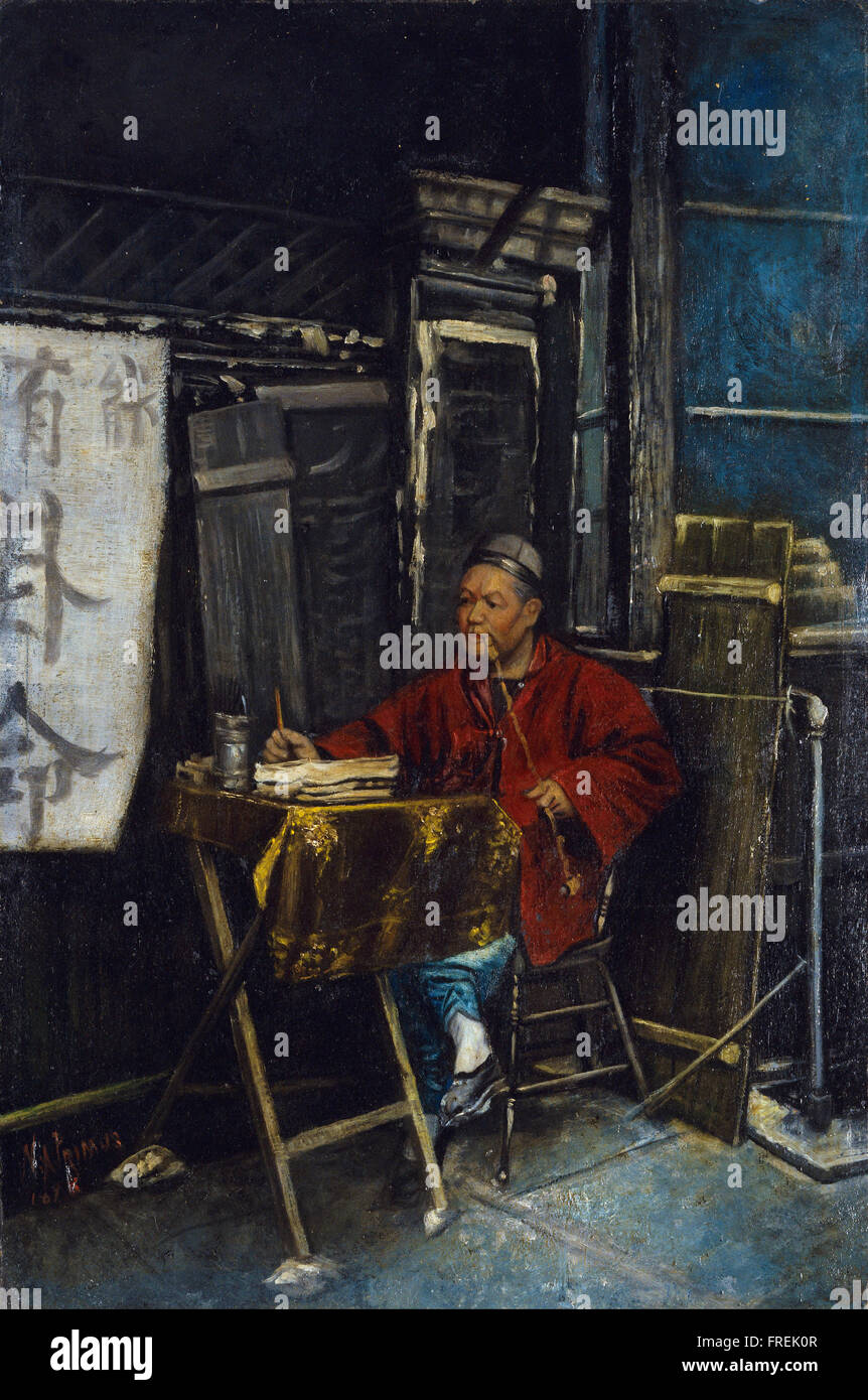 Nelson A Primus - Fortune Teller - Stock Image