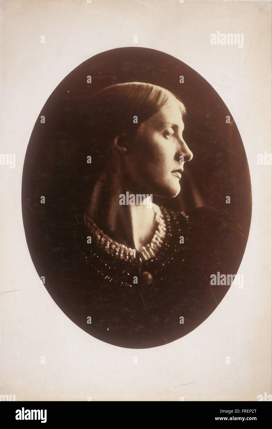Julia Margaret Cameron, English - Mrs. Herbert Duckworth - Stock Image