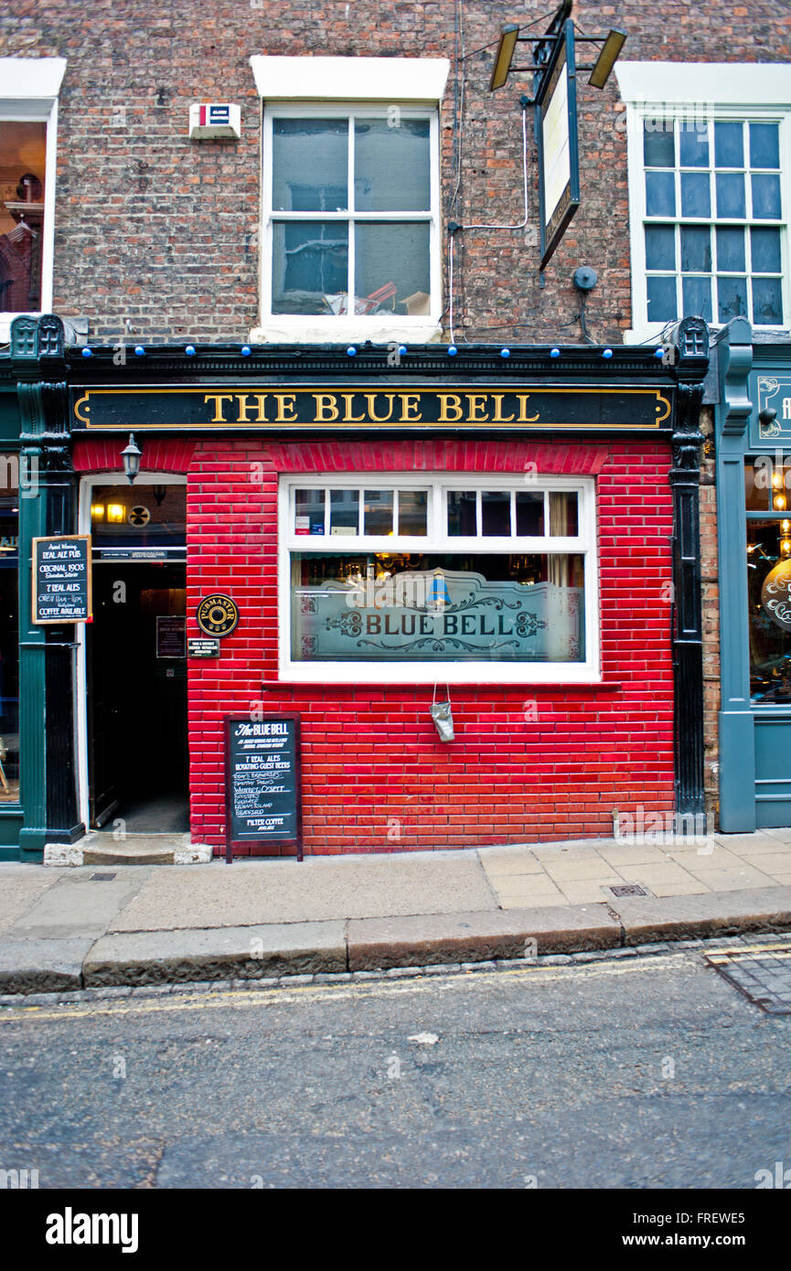 The Blue Bell, Fossgate, York - Stock Image