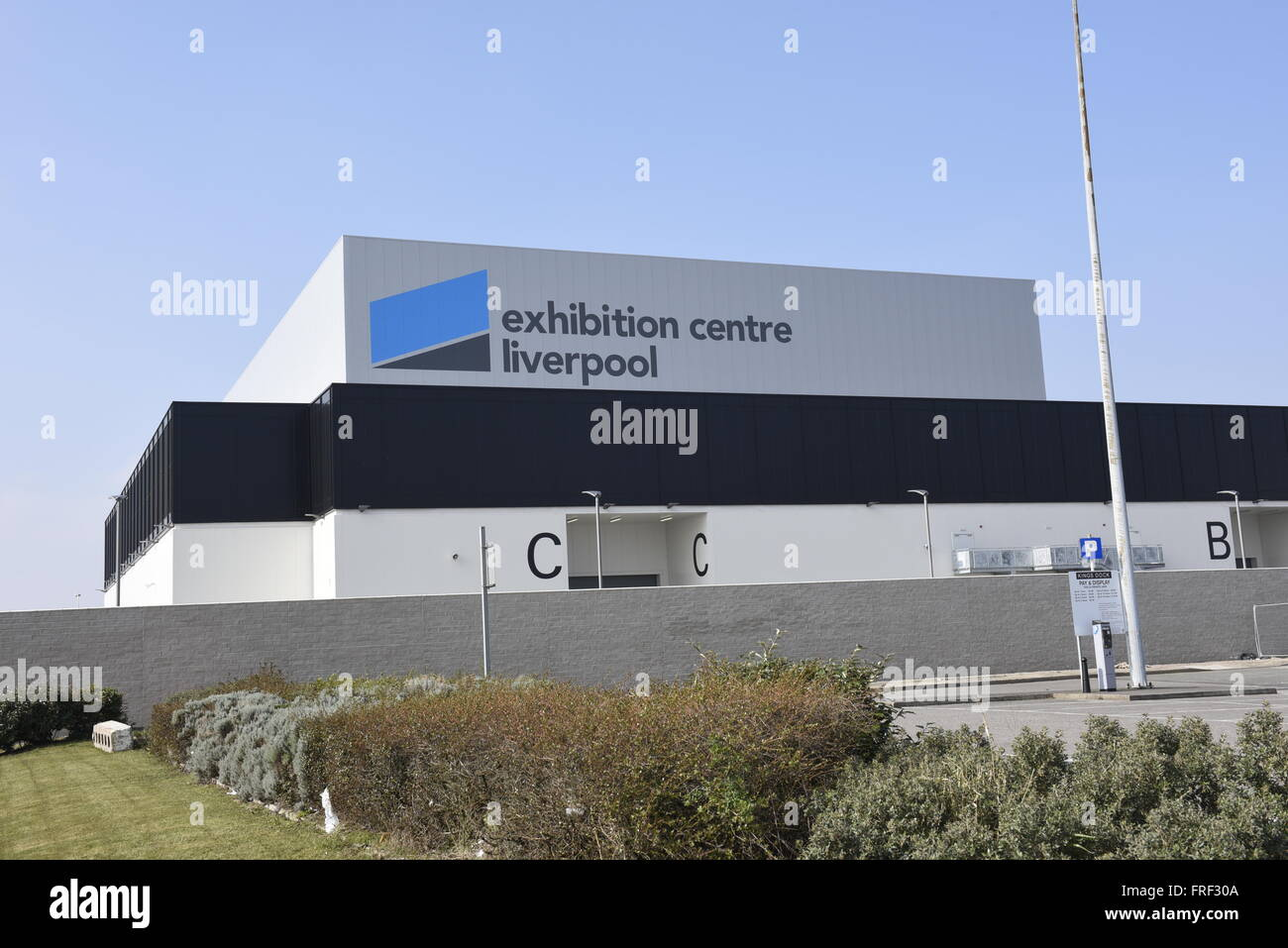 Exhibition Centre Liverpool, an 8,100m² purpose-built exhibition centre and integrated 4-star Pullman Liverpool - Stock Image