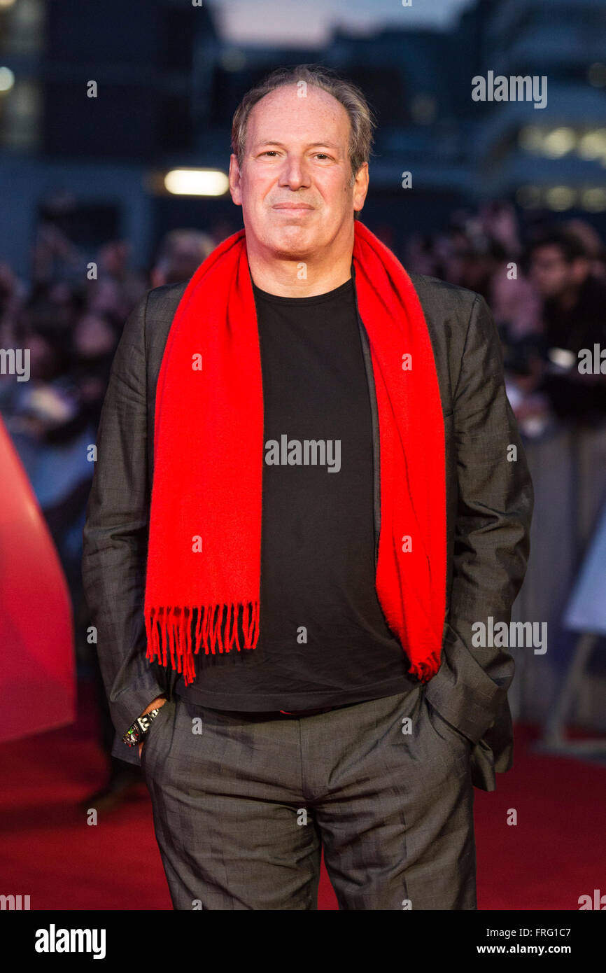 London, UK. 22 March 2016. Composer Hans Zimmer. Warner Bros. Pictures presents the European Premiere of Batman - Stock Image