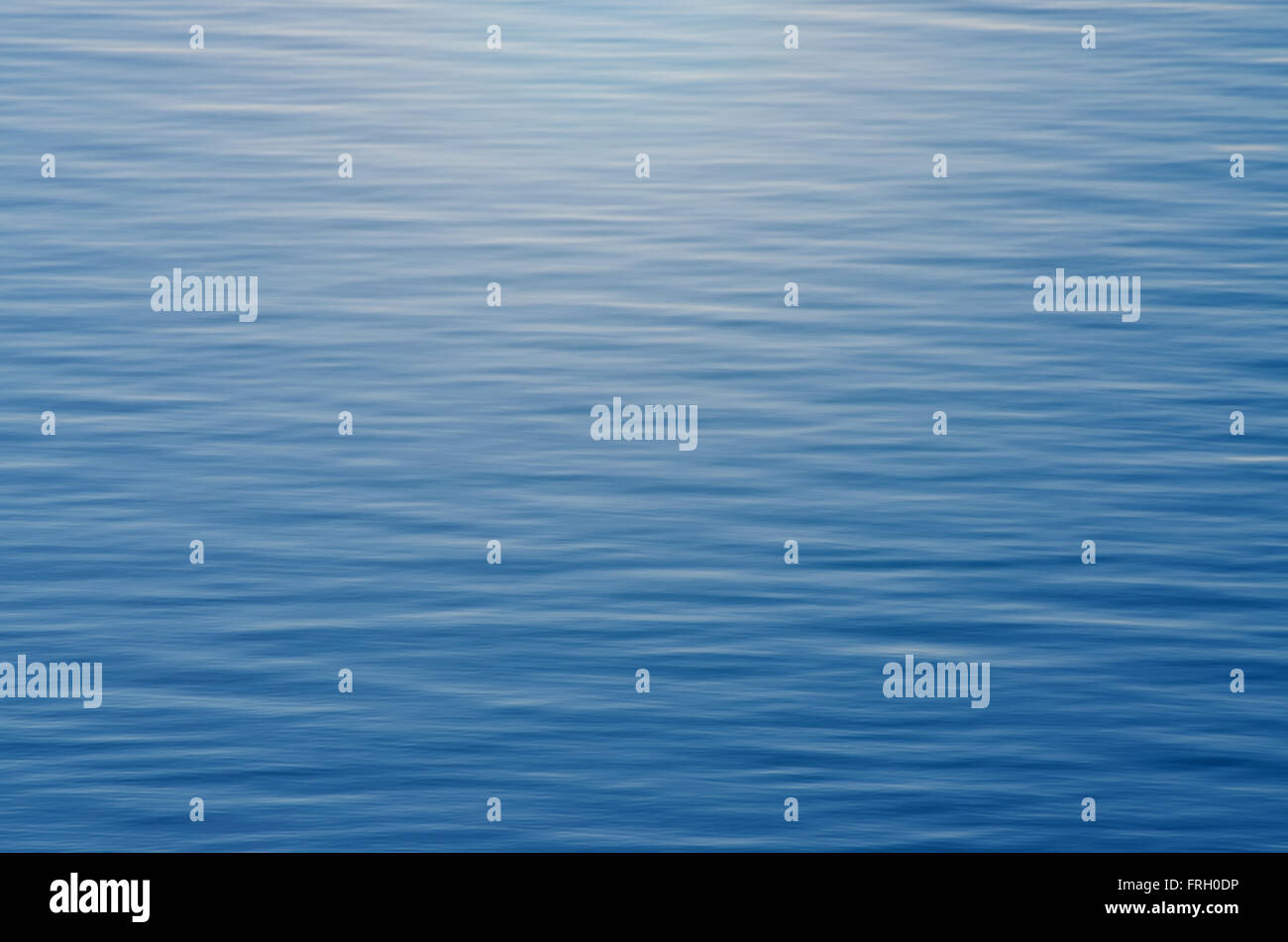 Abstract water background with vignette - Stock Image