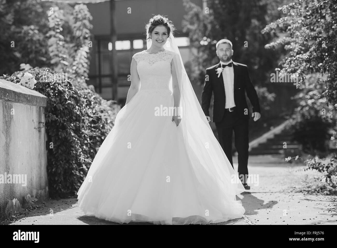 wedding day HD - Stock Image