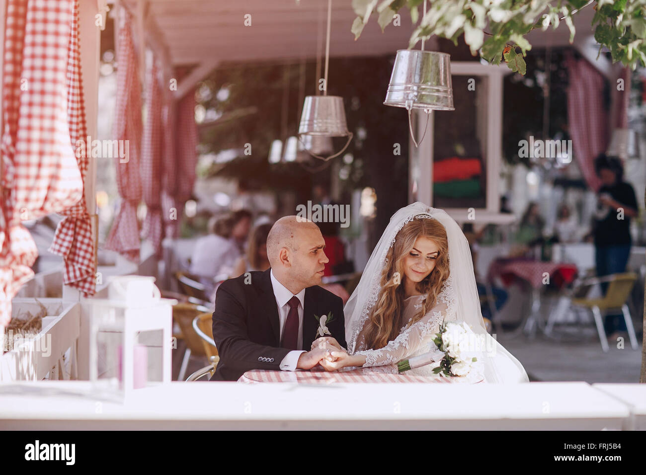 wedding day HD - Stock Image