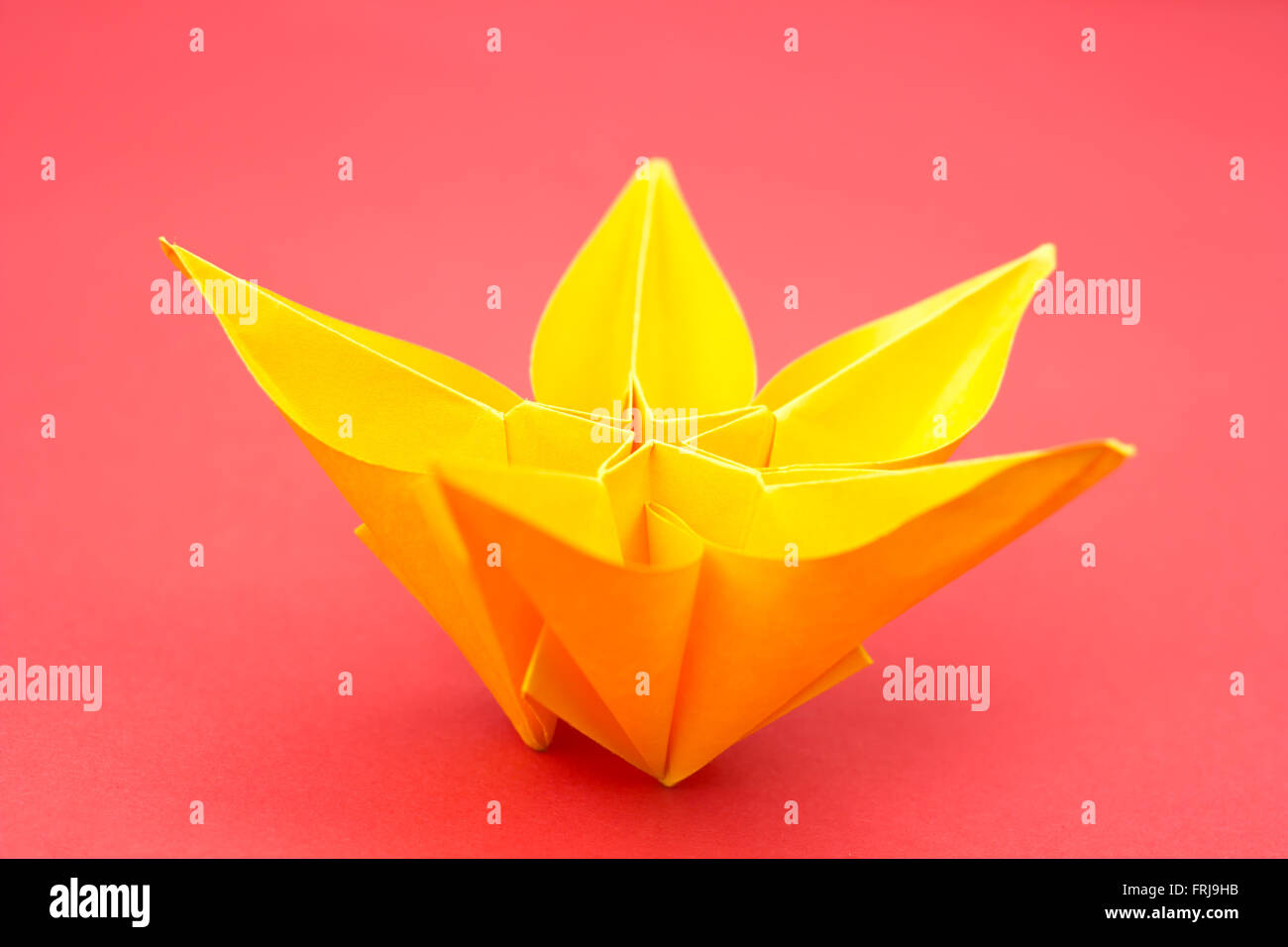 Origami Flower Stock Photos Origami Flower Stock Images Alamy