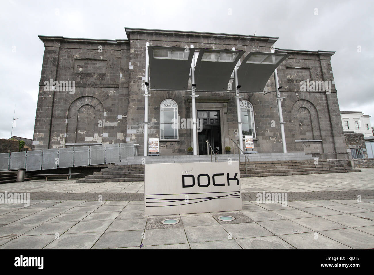 The Dock Arts Centre in Carrick-on Shannon, Co Leitrim - a venue Theatre and Music Performances, Exhibitions, Projects, - Stock Image