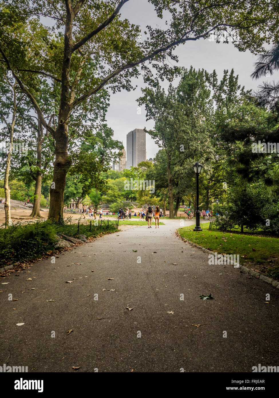 Central Park, New York City, USA - Stock Image