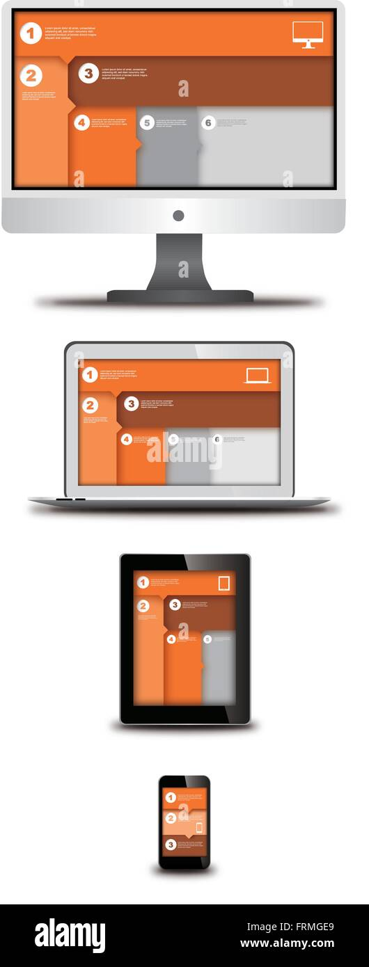 Responsive Design High Resolution Stock Photography And Images Alamy