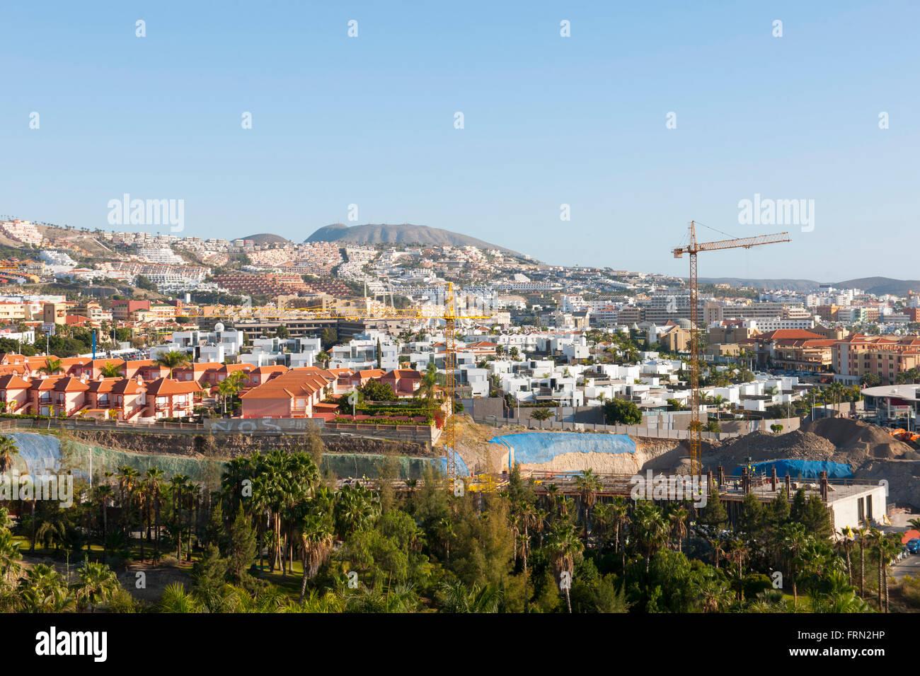 Spanien, Teneriffa, Playa de las Americas - Stock Image
