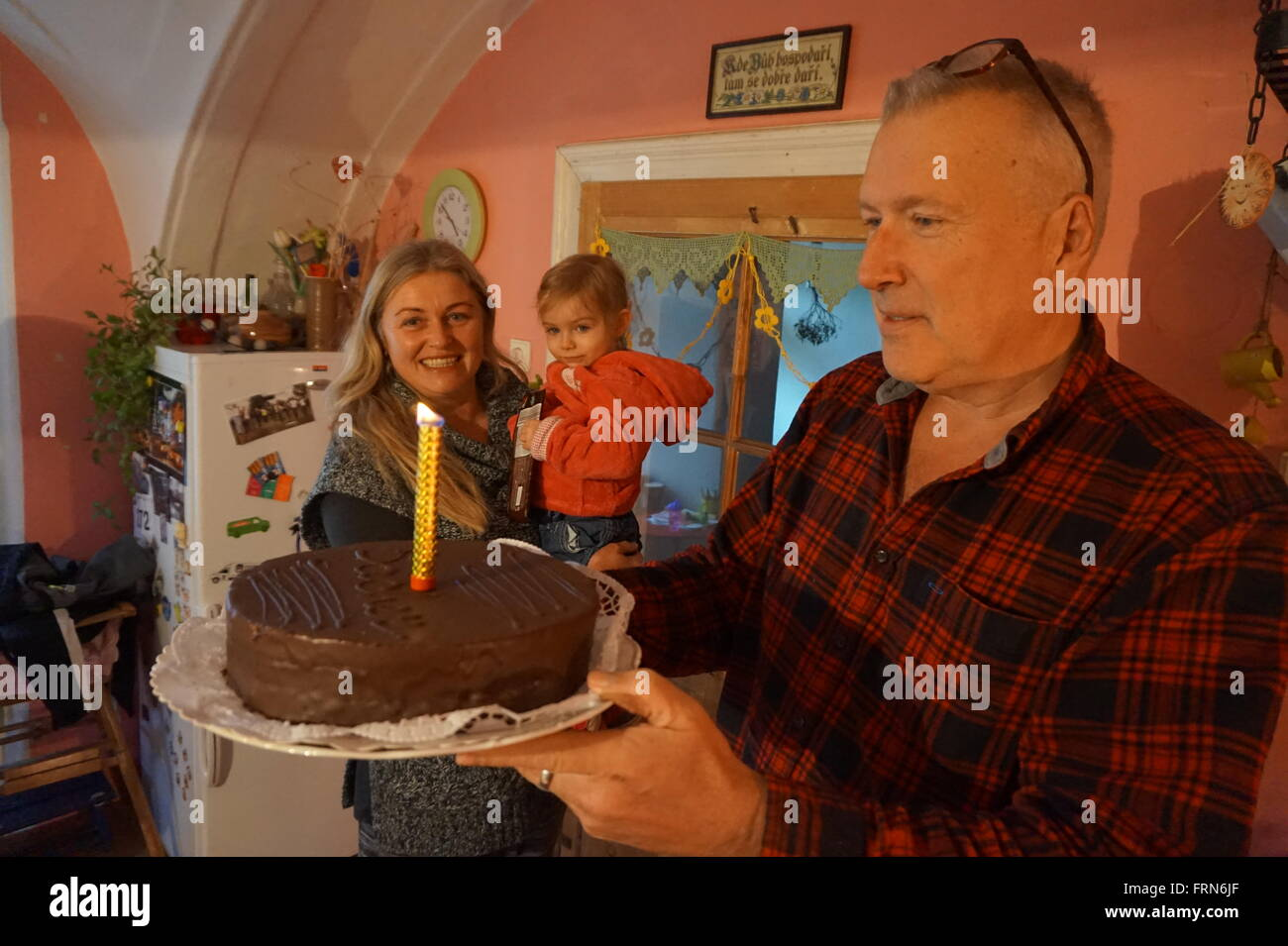 man celebrates 60th birthday stock photo 100655143 alamy