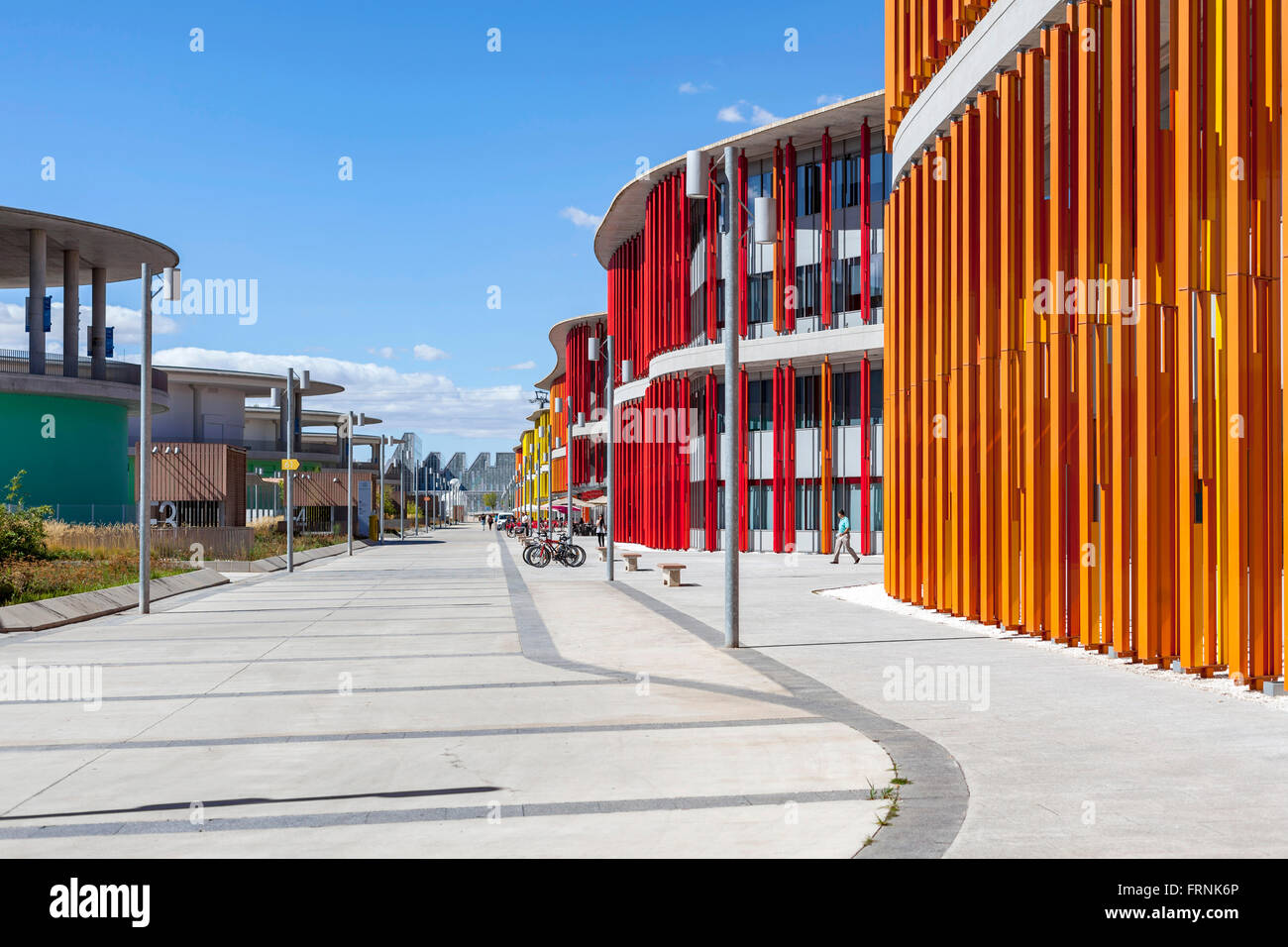 Business park Dinamiza in Expo area,Zaragoza,Aragón,Spain. - Stock Image