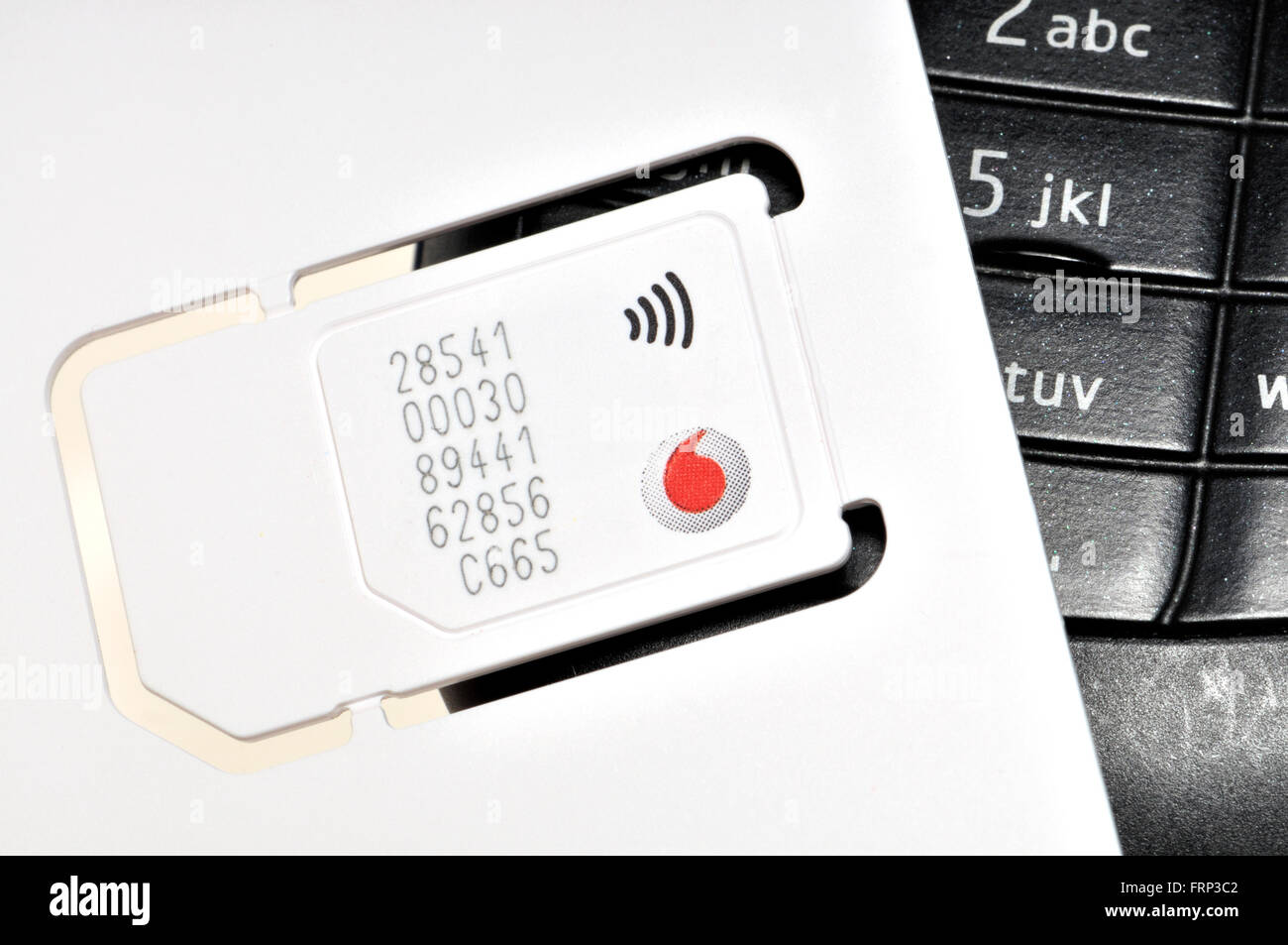 Smartphone Sim card (Vodafone) [Number digitally changed for