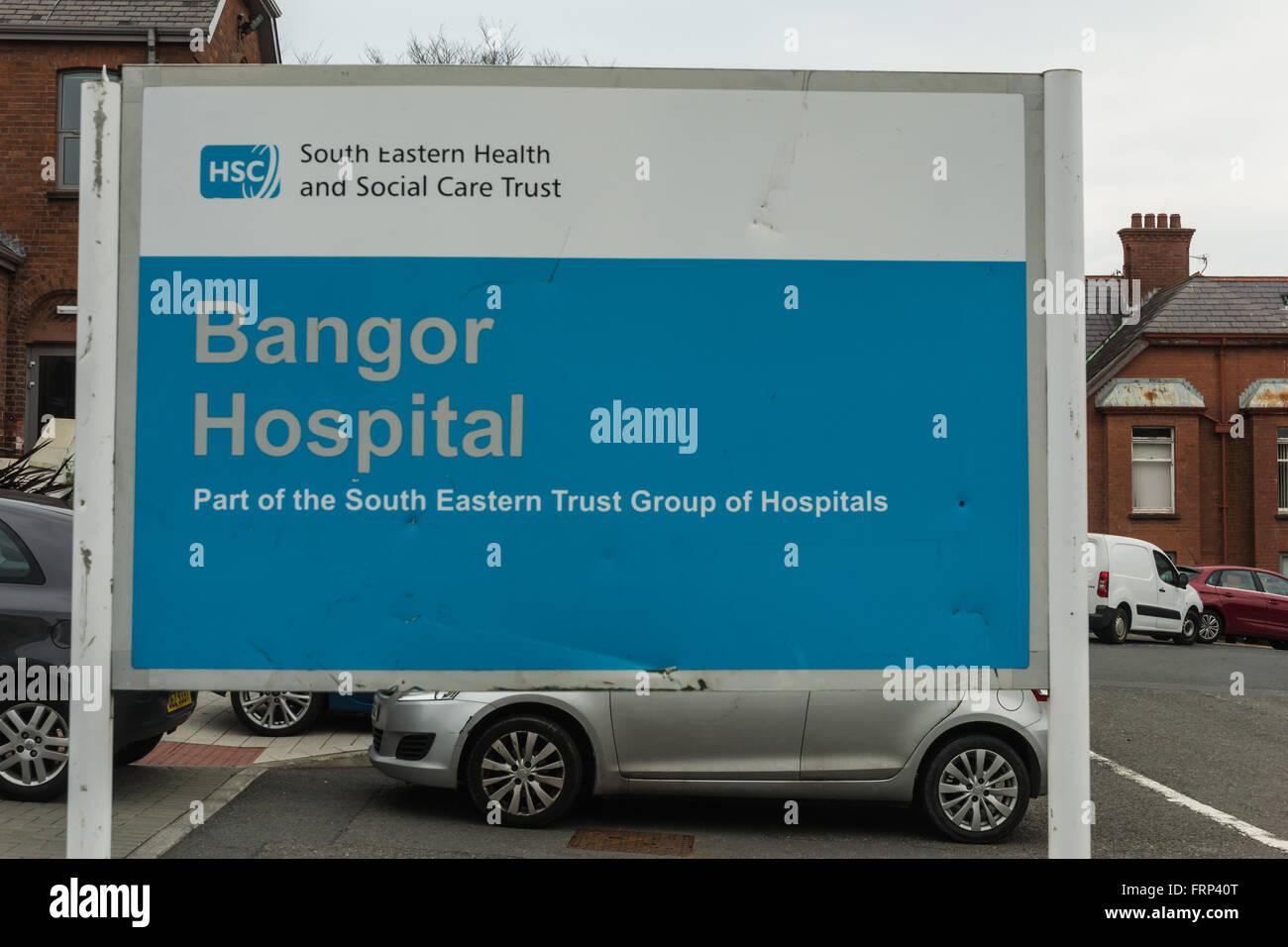 Bangor Community Hospital - Stock Image