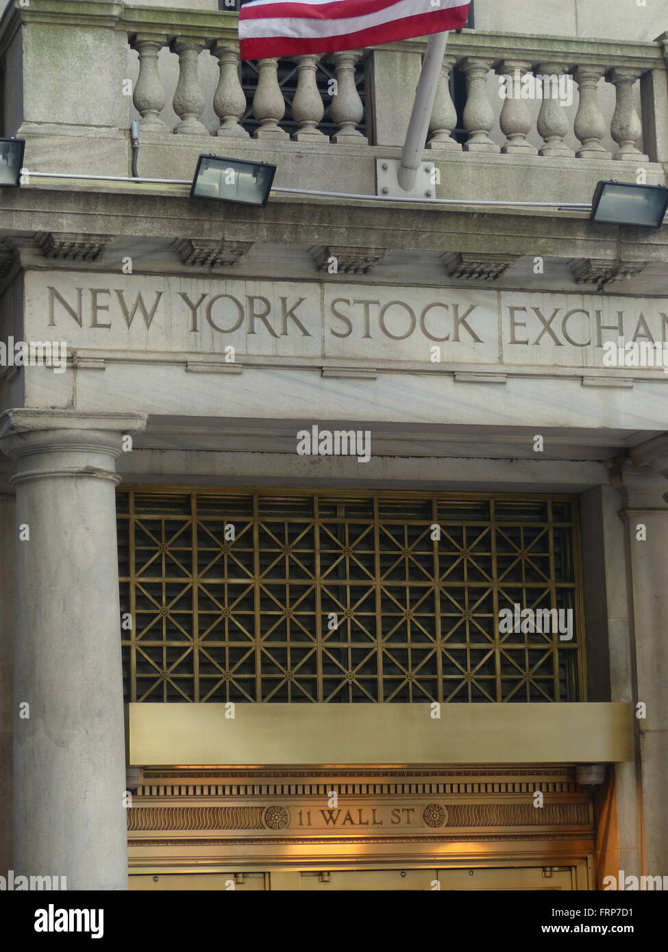New York Stock Exchange - Stock Image