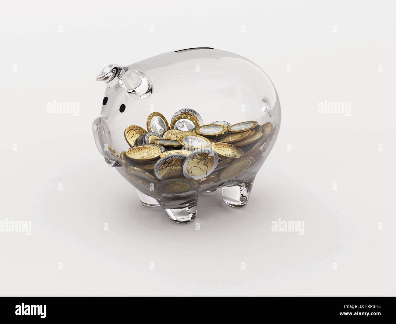 Economic transparency - Stock Image