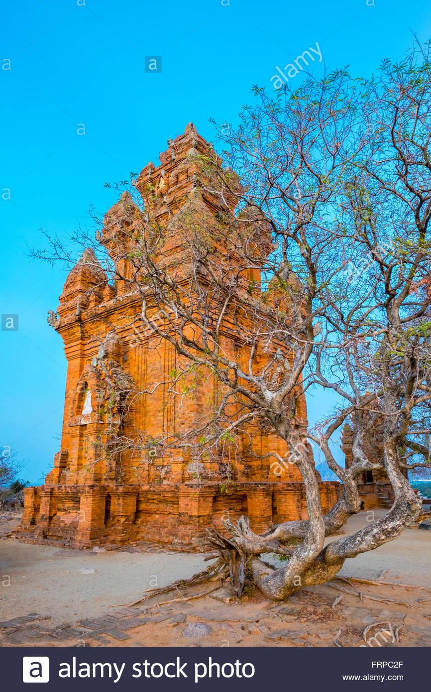 Po Klong Garai temple, Phan Rang-Tháp Chàm, Vietnam - Stock Image