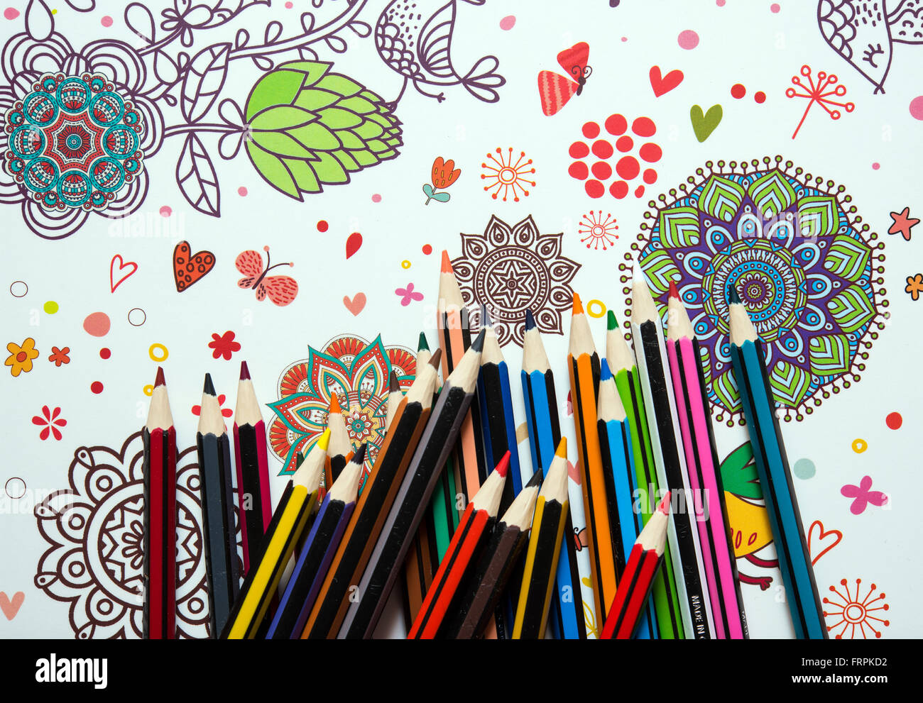 A Page In The Adult Coloring Book My Phantastic Ocean From Johanna