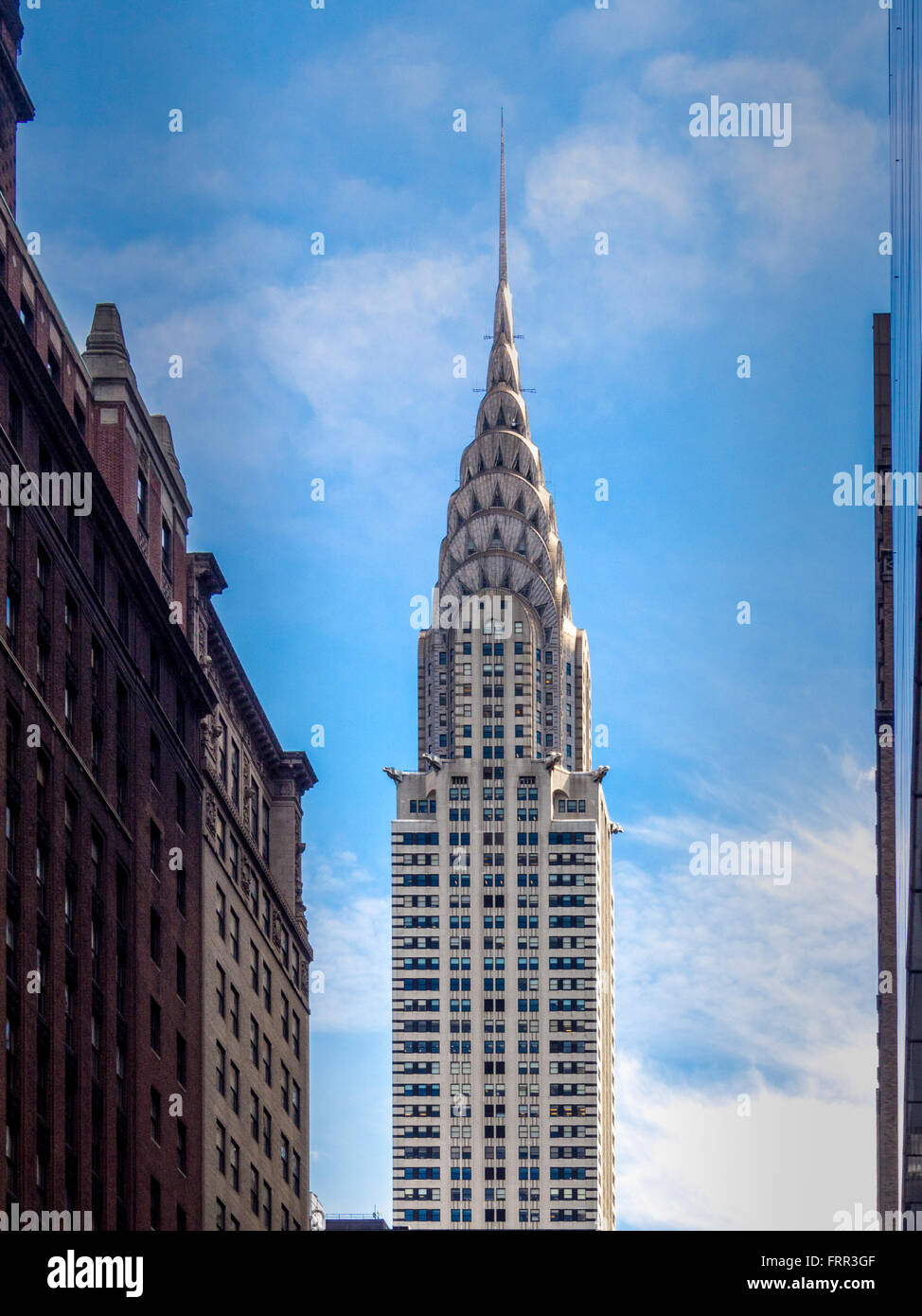 The Chrysler Building, East Side of Midtown Manhattan, New York City, USA. - Stock Image
