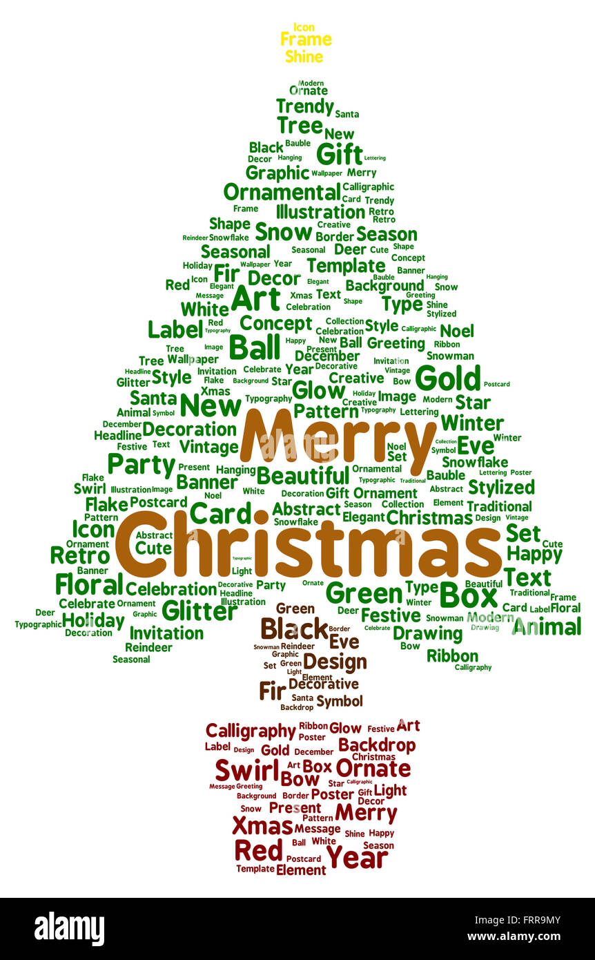 Merry Christmas Word Template