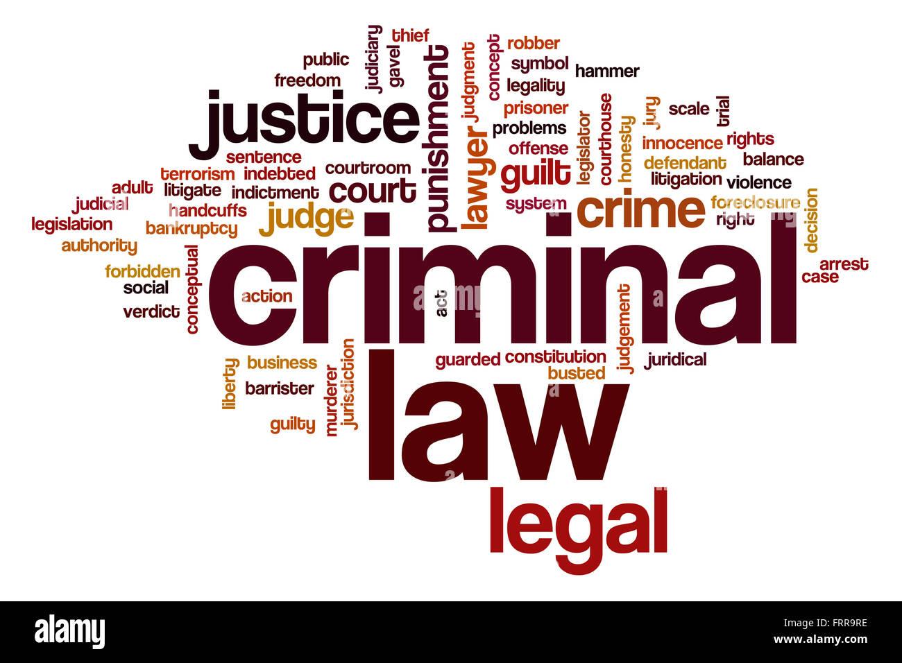 criminal law word cloud concept stock photo 100701538 alamy