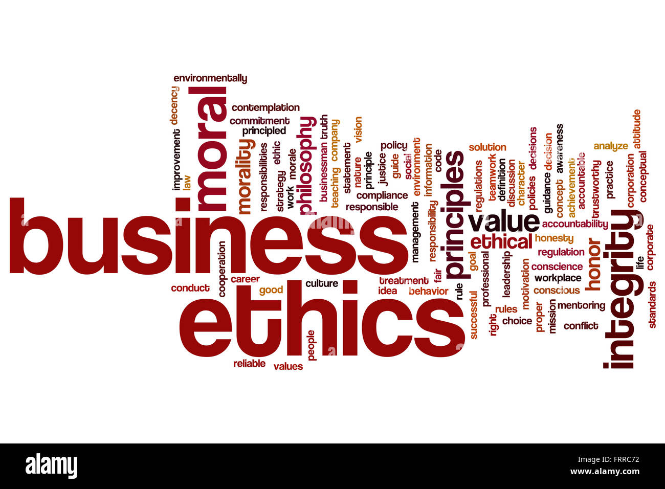 business ethics concept word cloud background stock photo 100703430 rh alamy com business conduct guidelines template business conduct guidelines program
