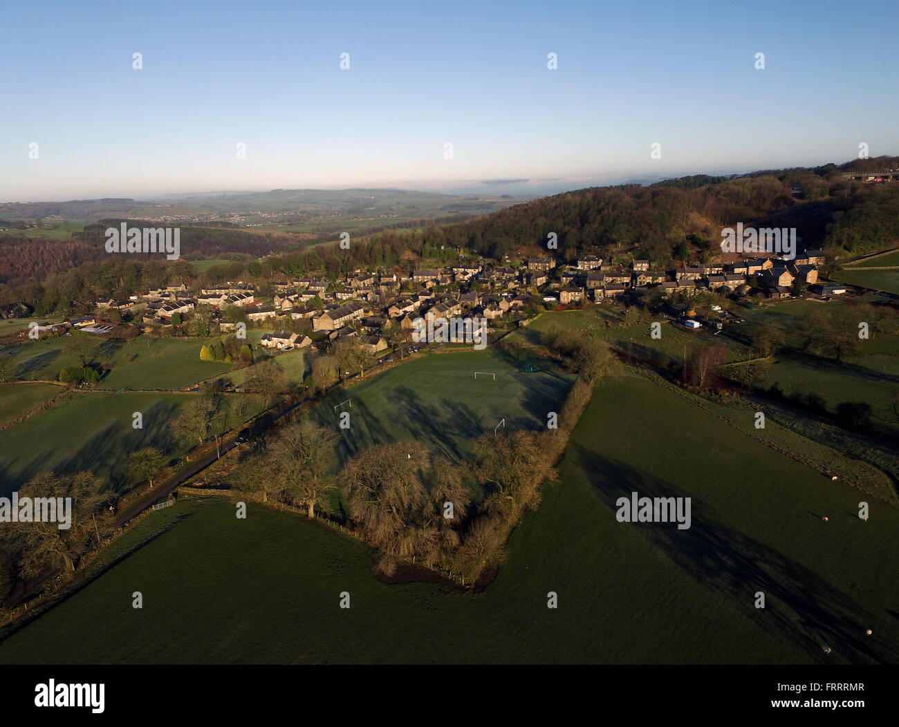 Brassington Derbyshire Peak District - Stock Image