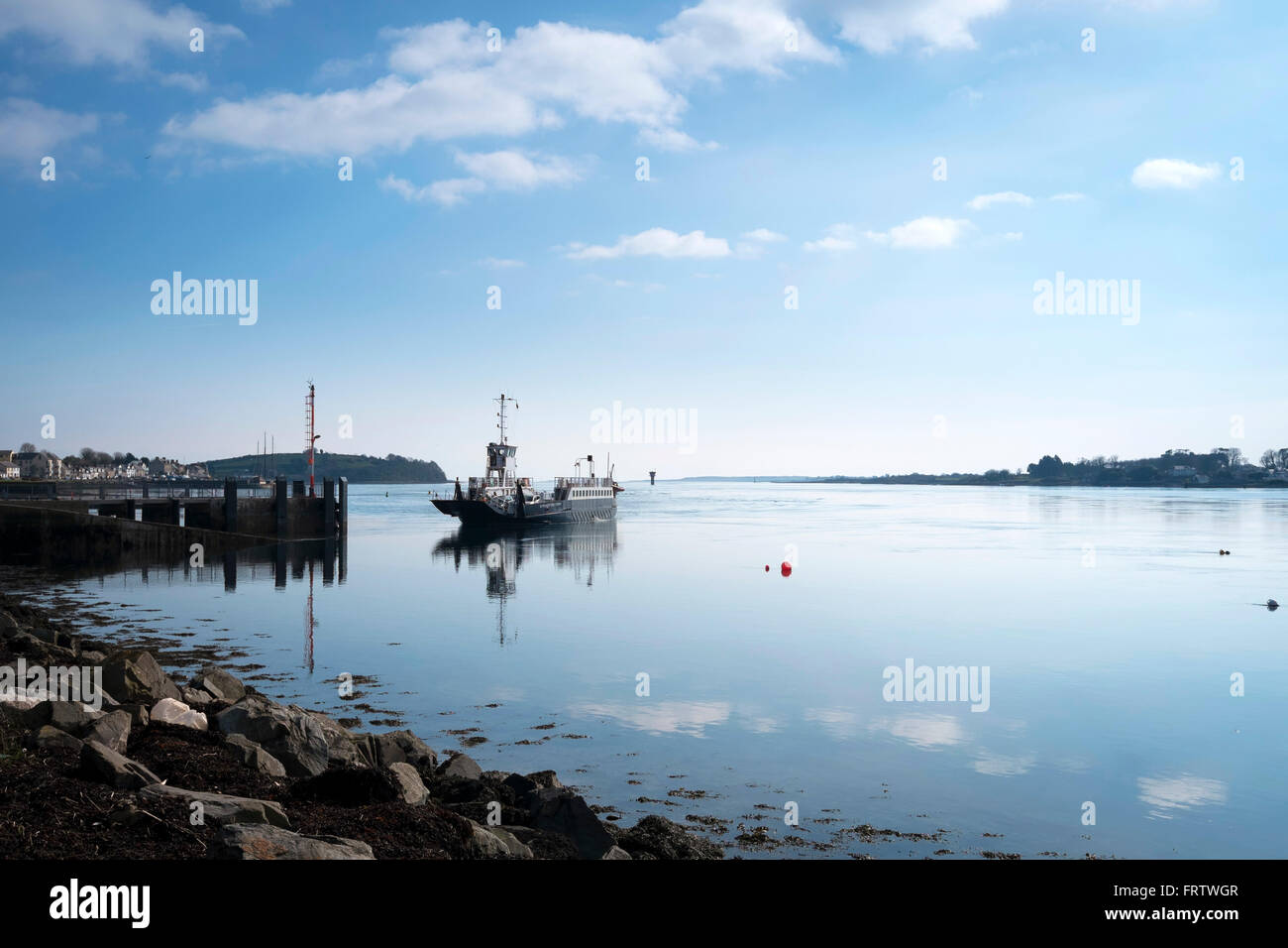 Strangford Ferry, Portaferry, Co. Down, Northern Ireland - Stock Image