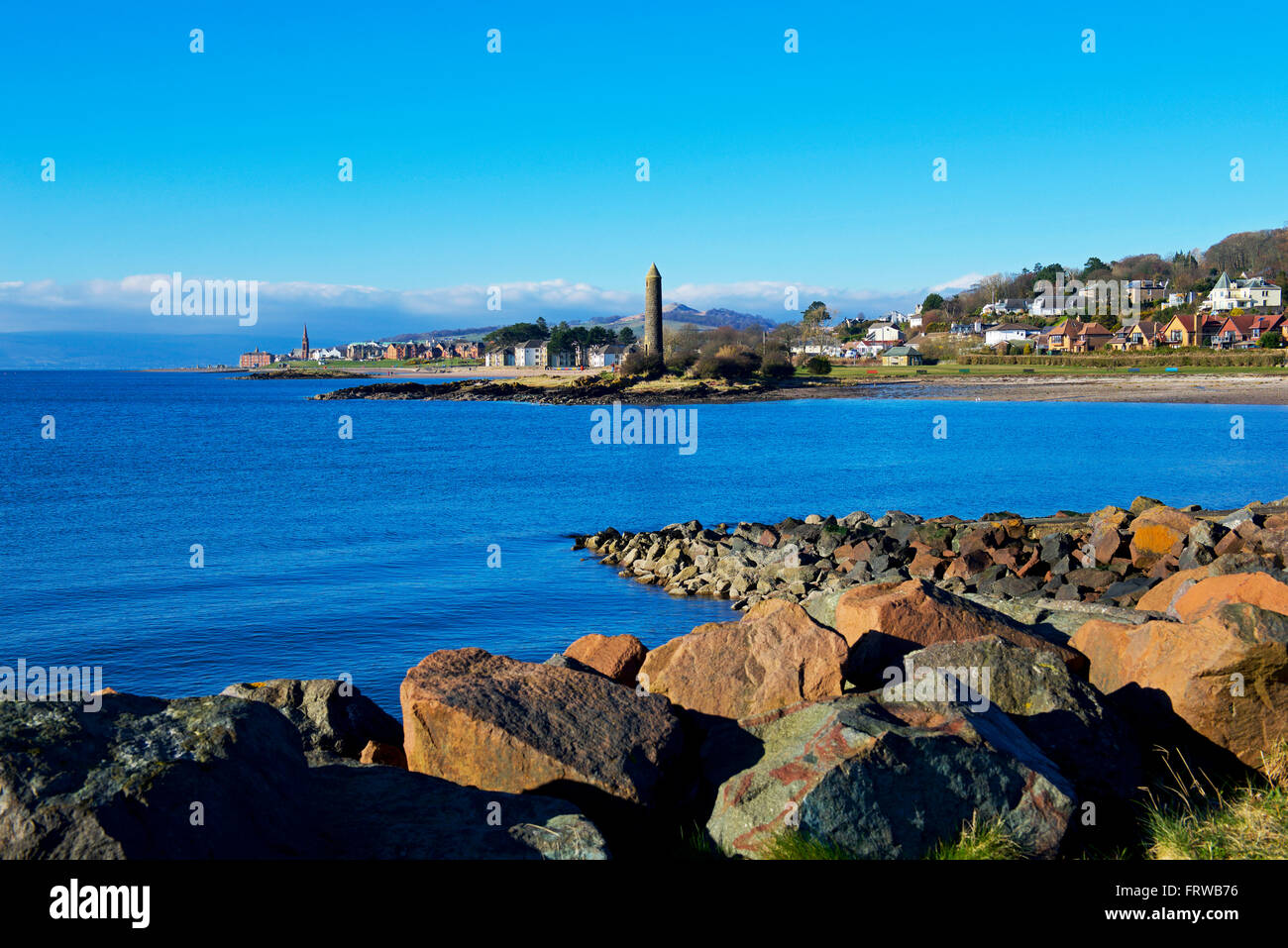 Largs, North Ayrshire, Scotland UK - Stock Image
