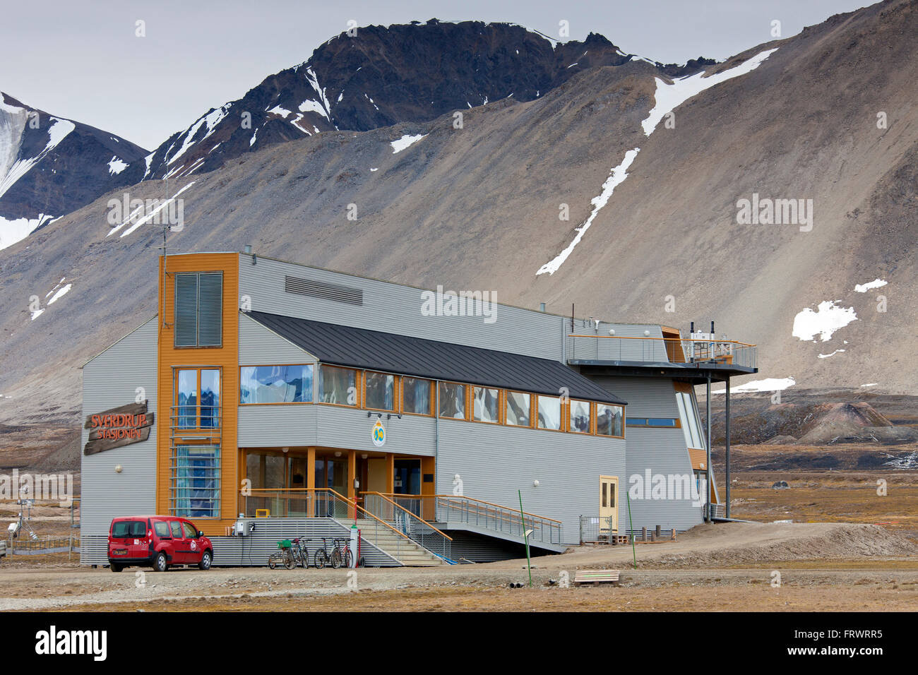 Research station of the Norsk Polarinstitutt / Norwegian