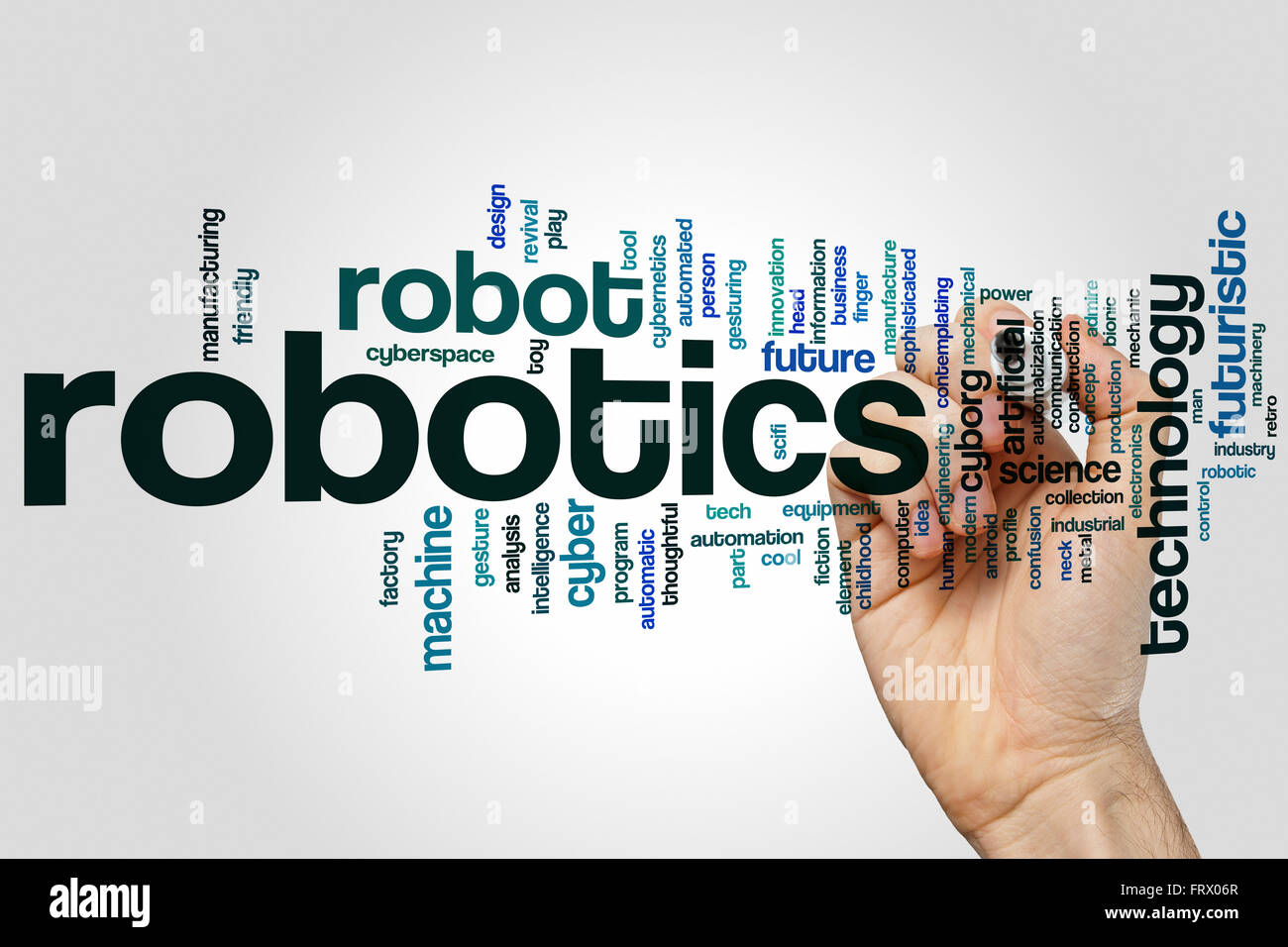 Robotics Word Cloud Concept Stock Photo 100759871 Alamy
