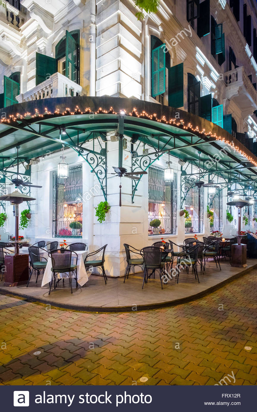Sofitel Legend Metropole Hotel, Hoan Kiem District, Old Quarter, Hanoi, Vietnam - Stock Image